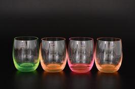 Набор стаканов для виски  АРЛЕКИНО НЕОН Bohemia Crystal 300 мл