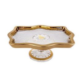 Хрустальный рулетница Union Glass ФЕЛИЦИЯ 28*21 см
