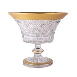 Хрустальная ваза для фруктов Glasspo ФЕЛИЦИЯ 31 см