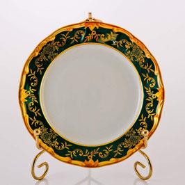 Набор постановочных тарелок Weimar ЮВЕЛ Зеленый  24 см ( артикул МН 27938 В )