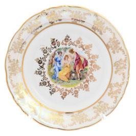 Набор закусочных тарелок МАДОННА Carlsbad 19 см