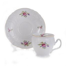 Набор для чая ПОЛЕВОЙ ЦВЕТОК Bernadotte на 6 персон 12 предметов