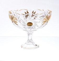 Хрустальная ваза для конфет Star Crystal 22 см