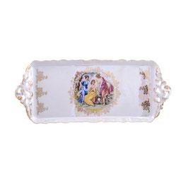 Блюдо прямоугольное  МАДОННА Queens Crown 40 см
