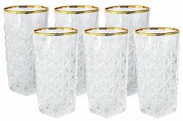 Набор хрустальных стаканов Same ЭНИГМА 350 мл