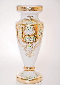 Напольная ваза для цветов ЛЕПКА СМАЛЬТА БЕЛАЯ 60 см