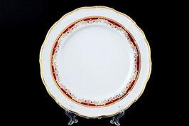 Набор подстановочных тарелок Thun КРАСНЫЙ УЗОР 27 см
