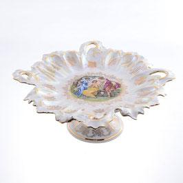 Блюдо круглое на ножке МАДОННА Queens Crown 33 см