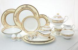 Столово-чайный сервиз Royal Classics АДЕЛИНА на 12 персон 81 предмет