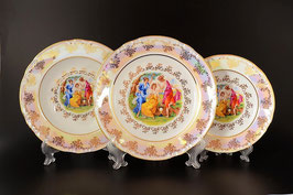 Набор тарелок для сервировки стола МАДОННА Thun 18 штук