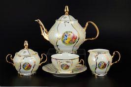 Чайный червиз МАДОННА Bernadotte на 6 персон 15 предметов