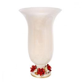 Ваза для цветов White Crystal КАМПАНЕ 24*24*42 см