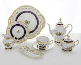 Немецкий чайный сервиз Weimar АННА АМАЛИЯ на 6 персон 23 предмет ( артикул МН 27940 В )