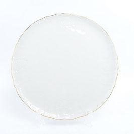 Блюдо для торта Bernadotte  ЗОЛОТОЙ ОБОДОК 32 см