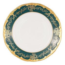 Набор закусочных тарелок Weimar ЮВЕЛ Зеленый 22 см ( артикул МН 60861 В )