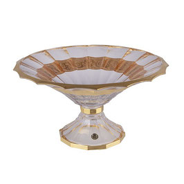 Ваза для фруктов Union Glass DOGE GARDEN матовый 34 см