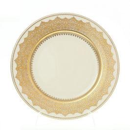 Набор закусочных тарелок Falkenporzellan AGADIR BROWN Gold 21 см