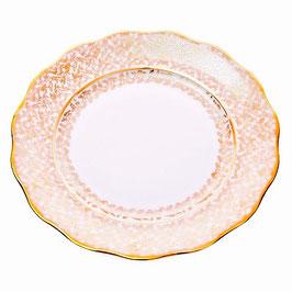 Набор подстановочных тарелок Carlsbad ЛИСТ БЕЛЫЙ 24 см