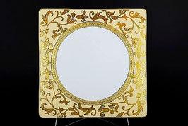 Набор постановочных тарелок Falkenporzellan TOSCA CREM GOLD 27 см