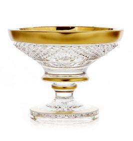 Хрустальная ваза для варенья Bohemia Crystal ФЕЛИЦИЯ 13 см