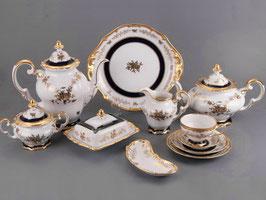 Немецкий чайный сервиз Weimar АННА АМАЛИЯ на 12 персон 55 предметов ( артикул МН 119 В )