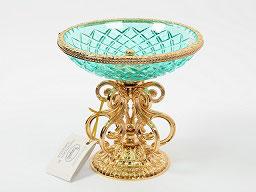 Декоративная ваза для конфет Rozaperla 18 см