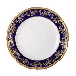 Набор закусочных тарелок МАРИЯ ТЕРЕЗА СИНЯЯ Bavarian Porcelain 19 см