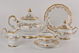 Немецкий чайный сервиз Weimar КАСТЭЛ на 6 персон 21 предмет ( артикул МН 28282 В )