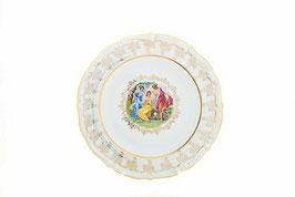 Блюдо круглое МАДОННА ПЕРЛАМУТР Queens Crown 30 см