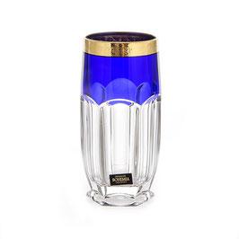 Набор стаканов CАФАРИ Синие Bohemia Crystal  300 мл