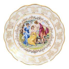 Набор закусочных тарелок МАДОННА Queens Crown 21 см