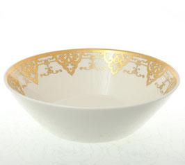 Набор салатников Falkenporzellan CARMEN CREAM Gold 19 см