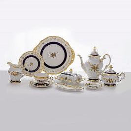 Немецкий чайный сервиз Weimar АННА АМАЛИЯ на 12 персон 54 предметов ( артикул МН 29948 В )