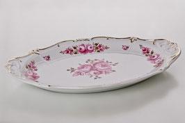 Блюдо овальное Weimar РОЗА Розовая 37 см ( артикул МН 32112 В )