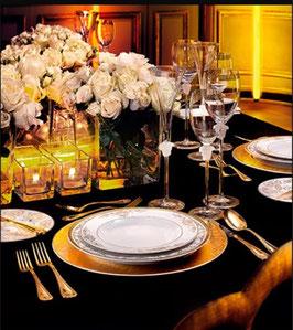 Комплект Посуды ROZENTHAL VERSACE MEDUZA GALA GOLD на 12 персон 266 предметов