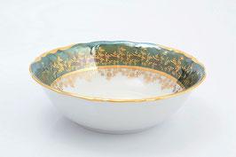 Набор салатников Sterne Porcelan ЛИСТ ЗЕЛЕНЫЙ 19 см