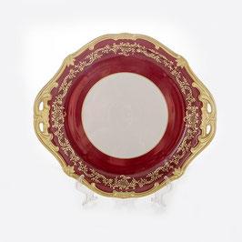 Блюдо круглое Weimar ЮВЕЛ Красный 28 см ( артикул МН 20545 В )