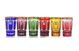 Набор хрустальных стаканов ARNSTADT АНТИК 360 мл ( МН 2614 В )