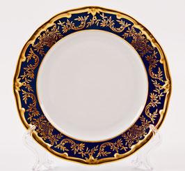 Набор закусочных тарелок Weimar ЮВЕЛ СИНИЙ 22 см ( артикул МН 8858 В )