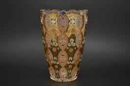 ХРУСТАЛЬ С ЗОЛОТОМ ваза для цветов 32 см