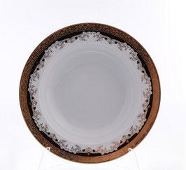 Набор глубоких тарелок Thun ЧЕРНАЯ ЛИЛИЯ 22 см