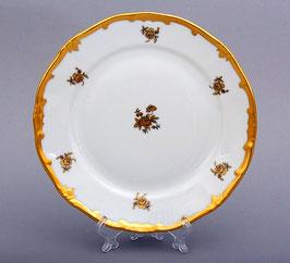 Набор закусочных тарелок Weimar РОЗА ЗОЛОТАЯ 19 см ( артикул МН 267 В )