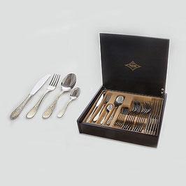 Набор столовых приборов Brignani Luca SAMMER GOLD на 6 персон 24 предмета