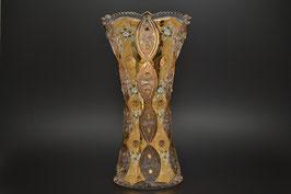 ХРУСТАЛЬ С ЗОЛОТОМ ваза для цветов 41 см