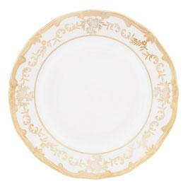 Набор десертных тарелок Weimar ЮВЕЛ Кремовый 17 см ( артикул МН 54803 В )