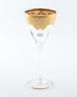Набор бокалов для вина Astra Gold NATALIA CREM GOLD 210 мл