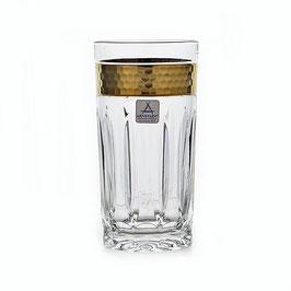 Немецкий хрусталь. Набор стаканов Arnstadt BLUM 370 мл