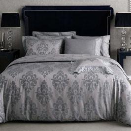Постельное Белье VALERON SATIN JACQUARD 2 спальное MIREYA голубой