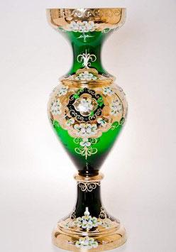 Напольная ваза для цветов ЛЕПКА СМАЛЬТА ЗЕЛЕНАЯ 70 см