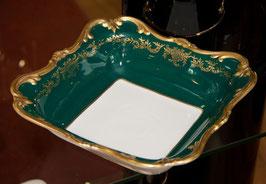 Салатник квадратный Weimar ЮВЕЛ Зеленый  26 см ( артикул МН 17751 В )